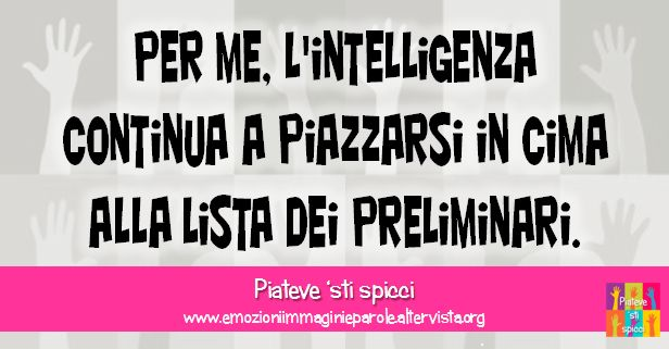 intelligenza
